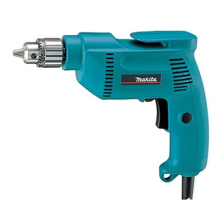 Taladro 10 mm 530 W 0-2500 rpm reversible Makita 6407