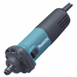 "Rectificadora de Matrices 1/4"" (6 mm) 400 W 25000 rpm 1,4 kg toma corta Makita GD0602"