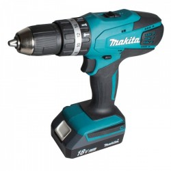 Taladro-Atornillador C/Percusión 13 mm - 2 vel variable (max Torque 42 Nm) Makita HP457DWE