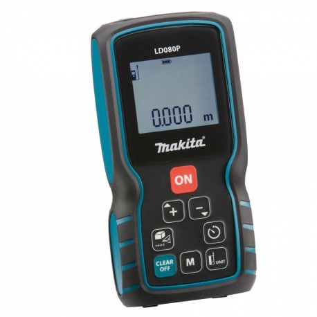 Medidor de Distancia Laser 0,05m - 80m Makita LD080P