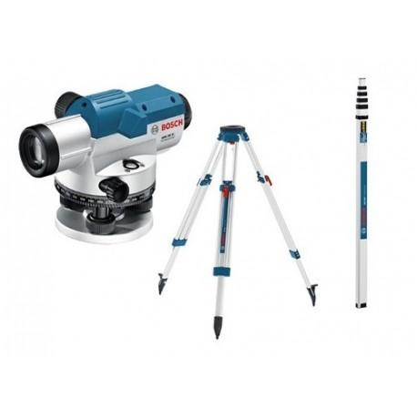 Niveles Opticos GOL 26 D + Tripode BT 170 HD + Regla GR 500 Bosch GOL 26 D KIT