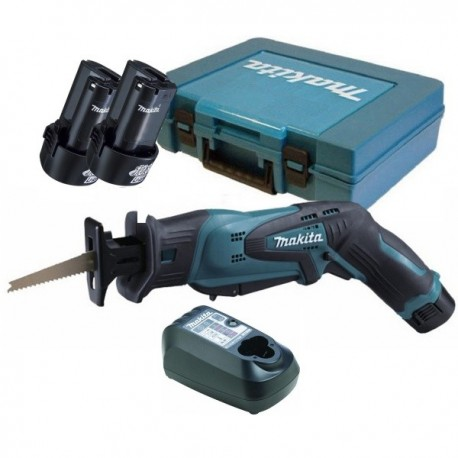 Sierra Sable 10,8 V / 12V Max Vel Variable 0-3300  Capacidad máxima corte 50 mm 12kg Makita JR100DWE