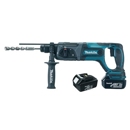 Makita Rotomartillo SDS-PLUS 20 mm 3 modos - 3,5 kg Cod BHR241RFE