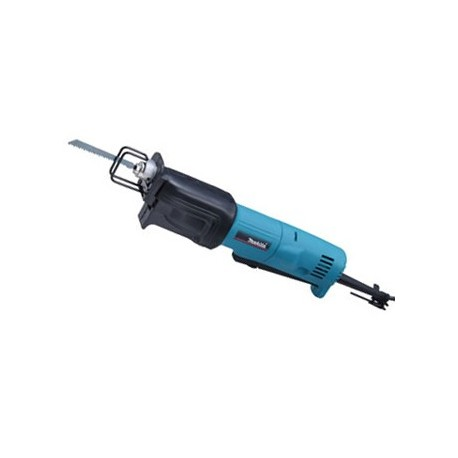 Makita Sierra Sable Mini 340 W. - Vel. Variable, Capacidad máxima corte 25,4 mm. Cod JR1000FT
