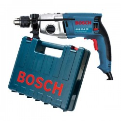 Taladro de percusión 800 W 3000 rpm 2,5 kg Bosch GSB 20-2 RE C/M