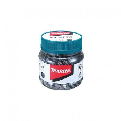 Set puntas para Atornillar 50 piezas Makita B-26521