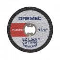 Disco corte para plastico ez lock Dremel EZ476
