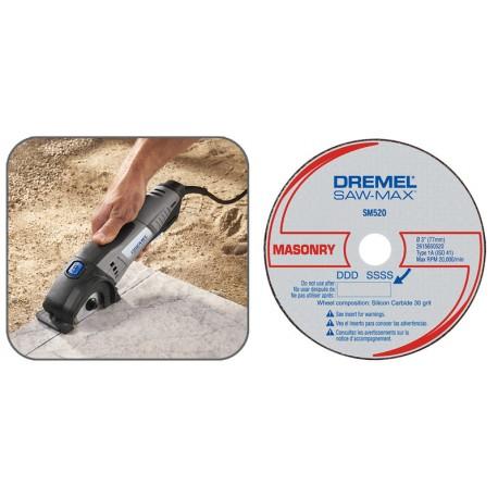 Disco de cemento/ladrillo Dremel SM520