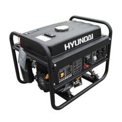 Generador Gasolina 2,5/2,8 Kw/Kva Partida manual monofásico Abierto HYUNDAI 78HY3100F