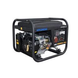 Generador Gasolina 6/6,5 Kw 7,5/8,1 Kva Partida eléctrica trifásico Abierto HYUNDAI 78HY9000LE3