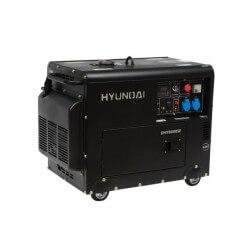 Generador Diesel 6/6,3 Kw/Kva Partida eléctrica monofásico Cerrado HYUNDAI 78DHY8000SE