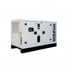 GENERADOR 17 Kva Industrial 380 volts Insonorizado HYUNDAI 78DCS17KSE