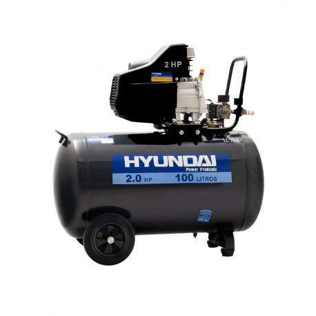 Compresor Monofásico 2HP 100L 115psi Directo HYUNDAI 78HYAC100D