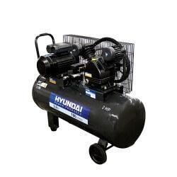 Compresor Monofásico 2HP 100L 115psi Correa HYUNDAI 78HYAC100C