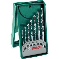 Set XLINE 7 brocas para piedras Bosch 2607019581