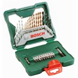 Set X-LINE 30 piezas para taladrar metal,concreto,madera + bits Bosch 2607019324