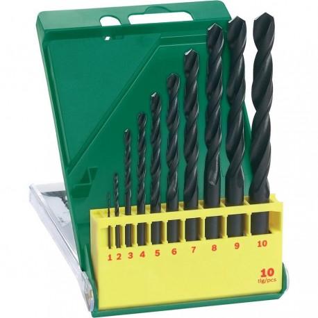 Set broca metal 10 piezas HSS-R Bosch 2607019442