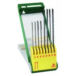 Set 8 piezas calar vástago universal metal/pl Bosch 2607019459