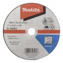 "Disco Corte Metal 7"" (180 X 25 X 2223 mm) Recto/A30S-BF Makita D-18683"
