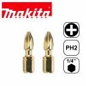 Punta de Torsión Impacto GOLD PH2 25mm (2 piezas) Makita B-28335