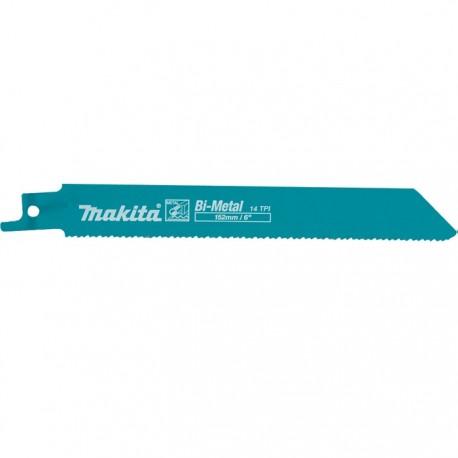 Hoja sierra Sable (14Tx152mm) Metal Makita D-51627