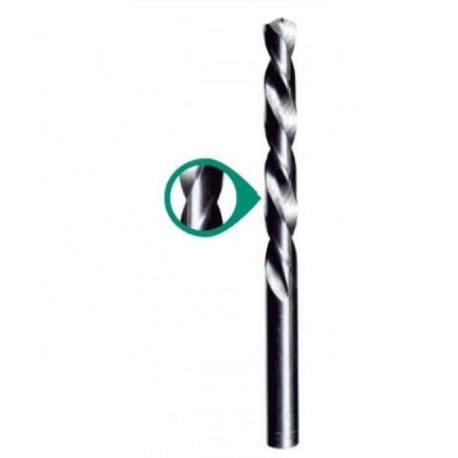 Broca para Acero al Cobalto HSS-CO DIN 338 RN Heller HHSC4.5