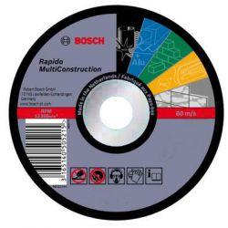 """Disco de corte rápido 7"""" 16 mm Multiconstruction Bosch 2608602766"""