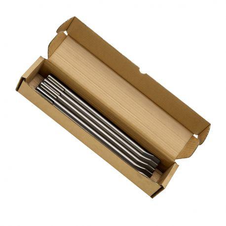 Bosch Cincel SDS-MAX Plano (Caja 10 Unid) Cod 2608690125