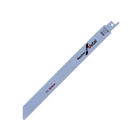 Bosch Hoja de Sierra Sable Flexible Cortes al Ras en Metal Cod 2608656020