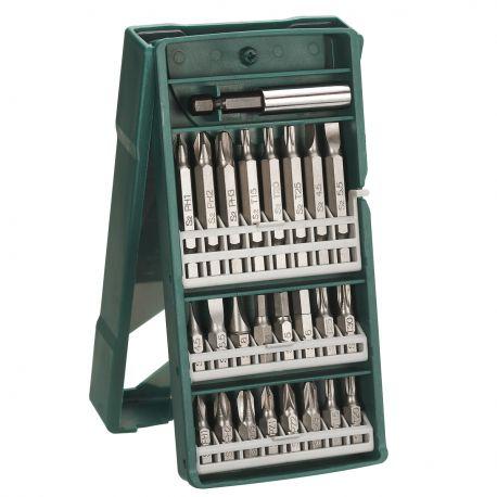Bosch Set Puntas con Adaptador Universal 25 Piezas Cod 2607019676