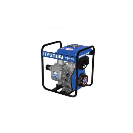 "Motobomba Diesel 3""x3"" Partida Manual Agua Limpia HYUNDAI 82HYD80MN"