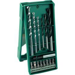 Set MINI X-LINE 15 brocas y puntas Bosch 2607019579