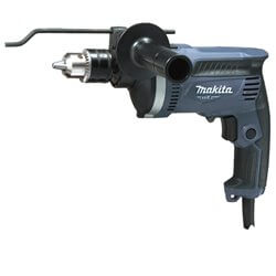 Taladro percutor 13 mm. 710W. 0-3200 r.p.m. Veloc. Variable. Reversible C/maleta Makita M8100KG