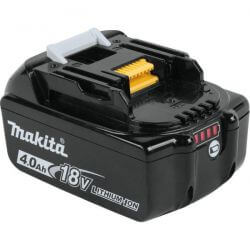 Batería 18-Volt LXT Lithium-Ion 4.0 Ah Con Indicador de Carga Makita BL1840B