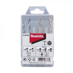 Set Brocas Madera - Metal 5 piezas Makita D-20769
