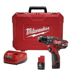 Taladro Inalámbrico 12V M12 Milwaukee 2408-259