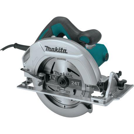 """Sierra Circular 7-1/4"""" (185 mm) eje 5/8"""" 1200 W Capacidad MaxCorte 64 mm Base de aluminio Makita HS7600"""