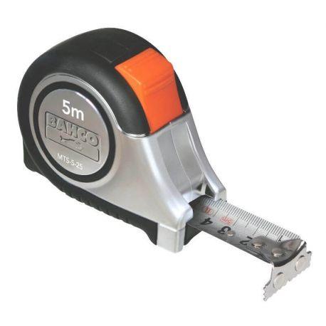 Huincha de Medir inoxidable, punta magnética - MTS Bahco MTS-5-25-E