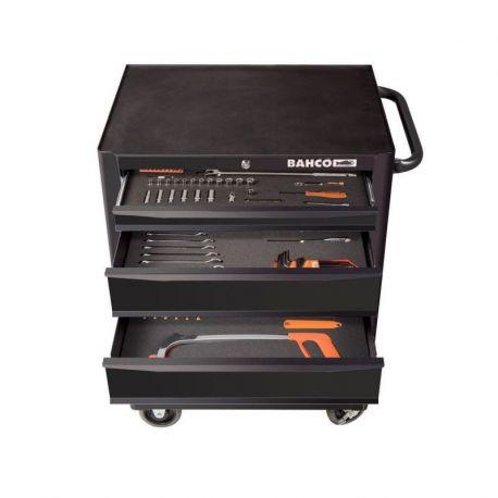 Carro Porta herramientas 143 pzs, 5 cajones Bahco 1470K5BKFFC1