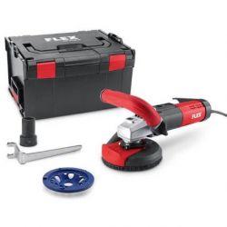 Pulidora para saneamiento a ras de bordes, libre de polvo de 125 mm. Flex LD 15-10 125 R, Kit PKD-Jet
