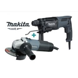 Combo Rotomartillo + Esmeril Makita MTK0005G