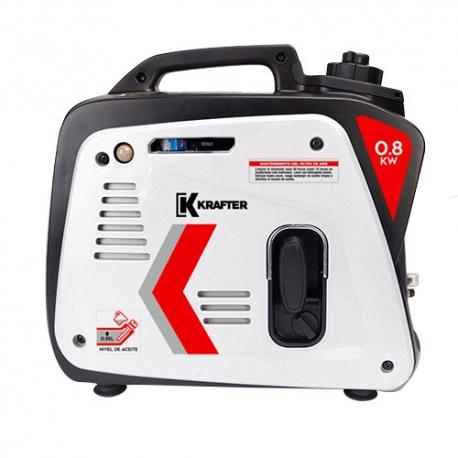 Generador Inverter a Gasolina 800 W KRAFTER KR 1000 IG