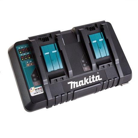 Cargador doble de Baterías 18V DC18RD Makita 196933-6