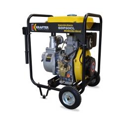 "Motobomba de caudal 3""x3"" a Diesel Partida Manual Krafter SDP80CL - Caudal"