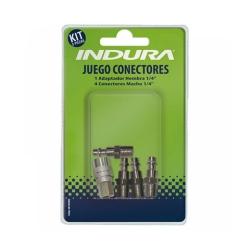 Juego de Accesorios Conectores (5 Pcs) Indura 1023803