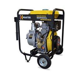 """Motobomba de caudal 3""""x3"""" a Diesel Partida Eléctrica Krafter SDP80CLE - Caudal"""