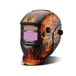 Máscara Fotosensible Mega Flama