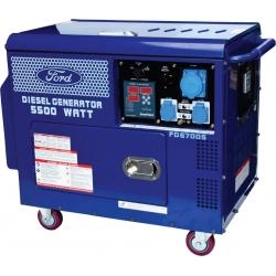 Generador 5.5 KVA Insonorizado Diesel Ford FD6700S