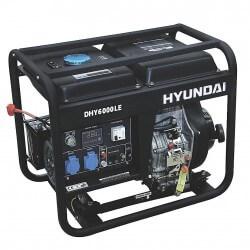 Generador Diesel 5,0/5,5 kw HYUNDAI 78DHY6000LE