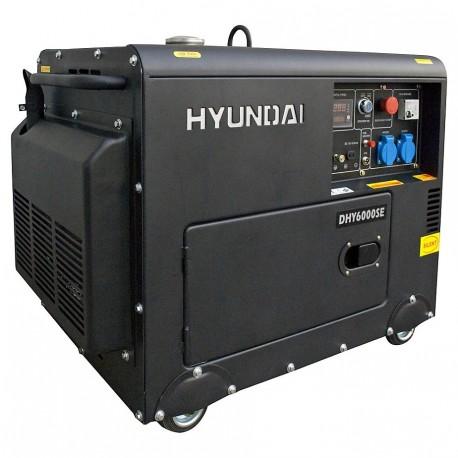 Generador Diesel 5,0/5,5 kw insonorizado HYUNDAI 78DHY6000SE